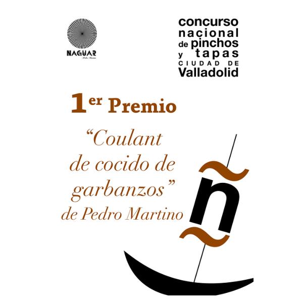 Primer premio del IX Concurso nacional de pinchos y tapas de Valladolid
