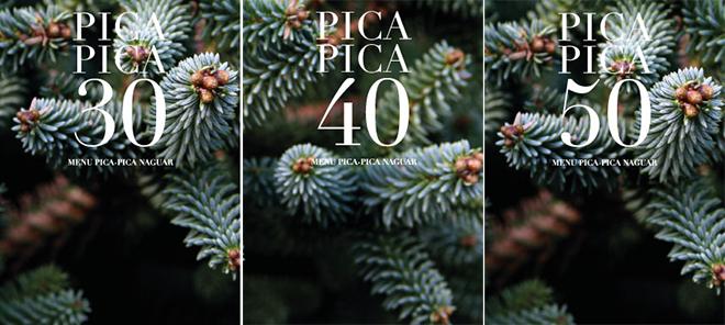 Menús pica-pica para Navidad 2012